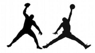 size 40 b6608 229bc Air Jordan Logo Too Similar To Rob Gronkowski Logo, Says Nike