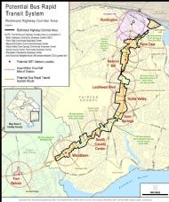 Richmond Highway Corridor Area - Potential BRT