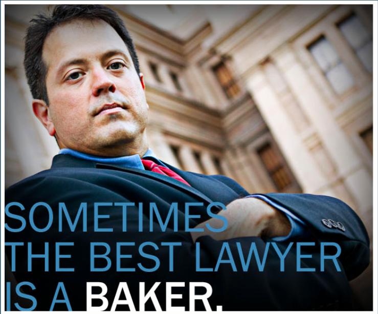 Best Lawyer is a Baker