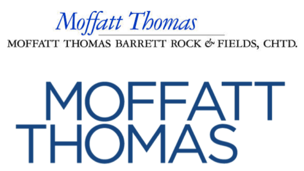 Moffatt Thomas logo before and after
