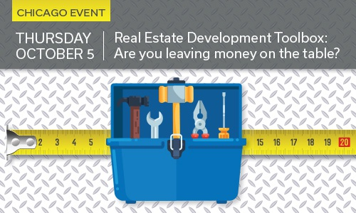Ad for Real Estate Toolbox workshop