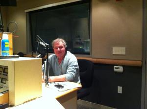 Morris Shriftman of Mozart Inc. visits The Wendel Forum studio