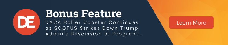 DirectEmployers OFCCP Week In Review Bonus Feature | DACA Roller Coaster Continues...
