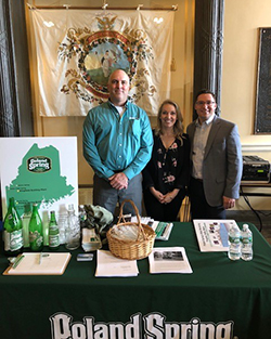 Poland Springs at Maine State House