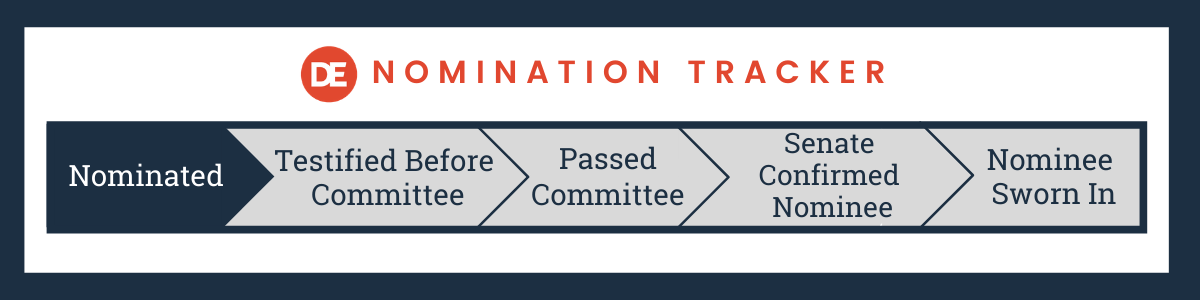 DE Nomination Tracker: Nominated