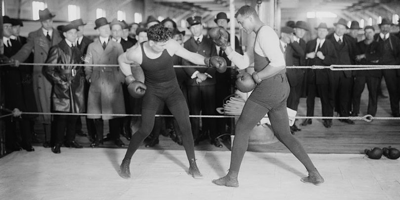 Picture of Jack Dempsey Boxing
