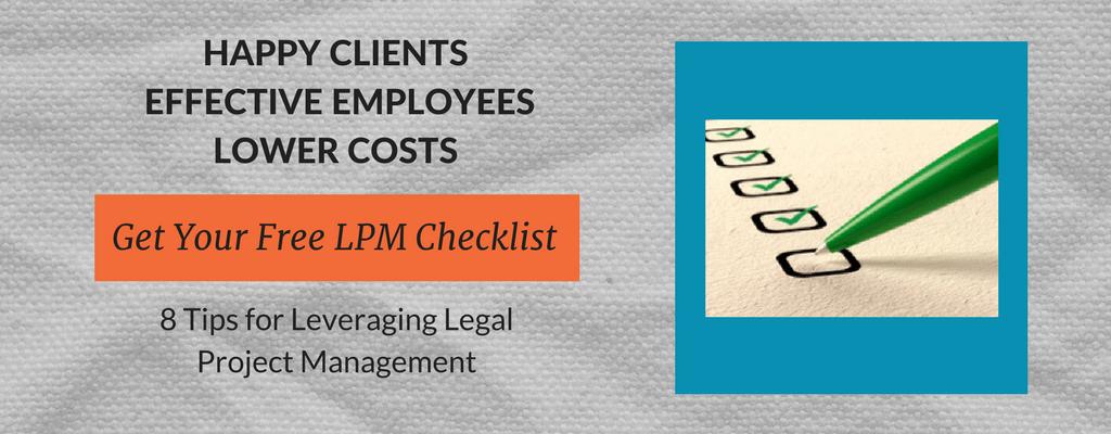 Exterro Legal Project Management Checklist