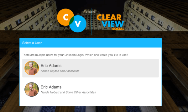 What's New in ClearView Social: Login with Facebook and Multiple