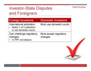 Investor State Dispute