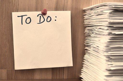 Tasks, Plan, Target, List, Checklist