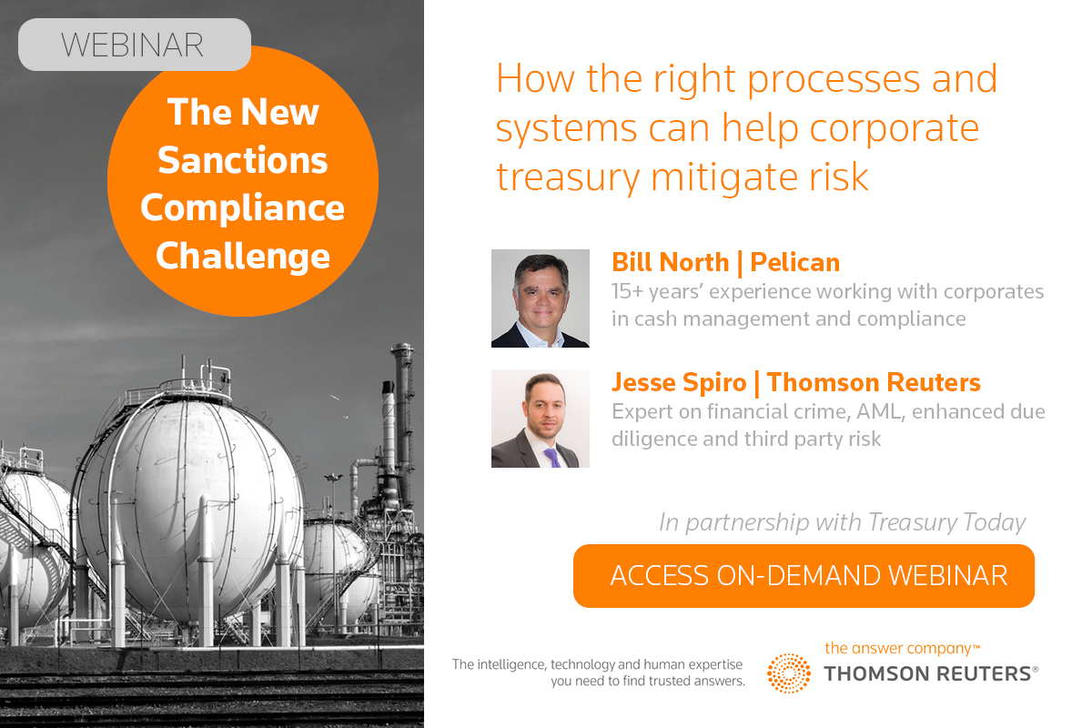 Watch the webinar on The New Sanctions Compliance Challenge