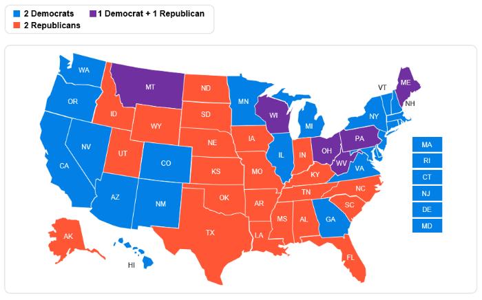 2020 U.S. Senate Results