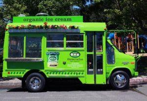 Carl the Three Twins Ice Cream Bus