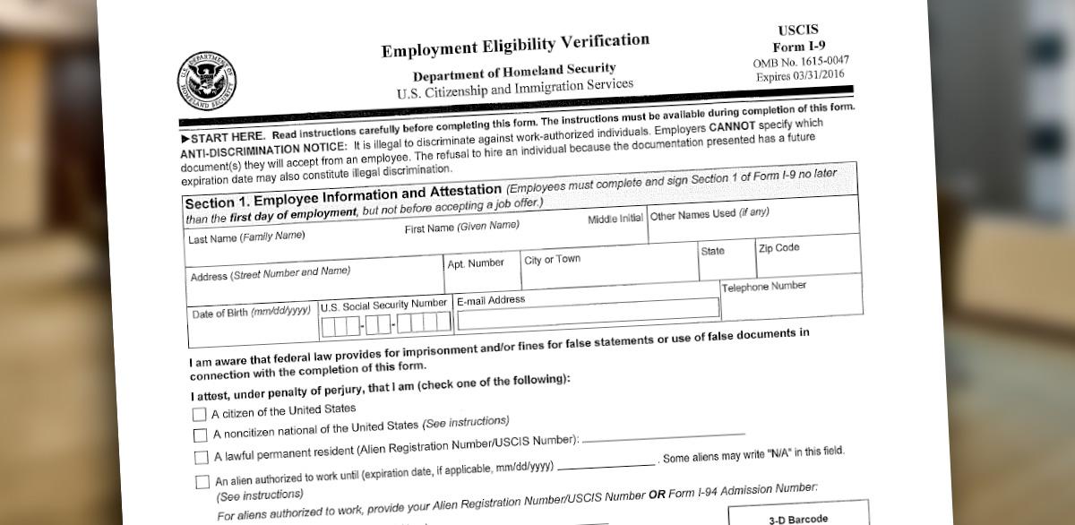 How to self-audit your I-9 forms | McAfee & Taft - JDSupra