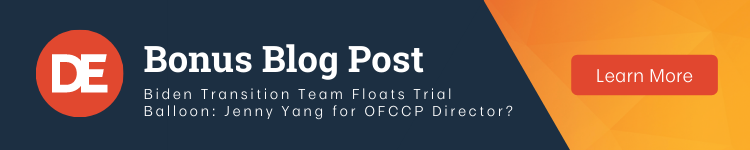 OFCCP Week In Review Bonus Blog Post   Biden Transition Team Floats Trial Balloon: Jenny Yang for OFCCP Director? • DirectEmployers Association