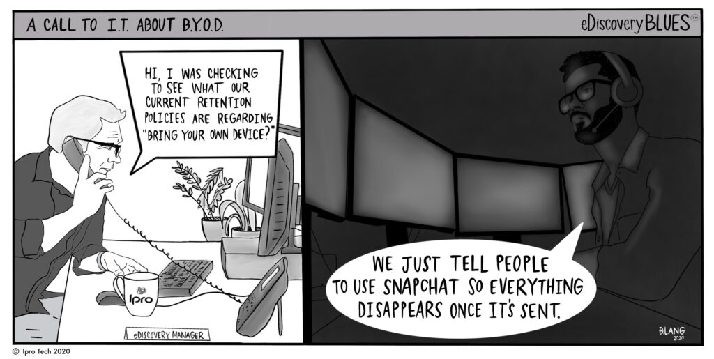 corporate legal BYOD
