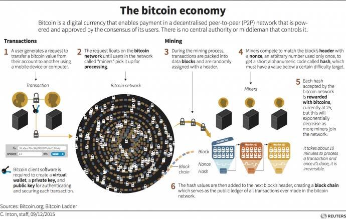 The bitcoin economy