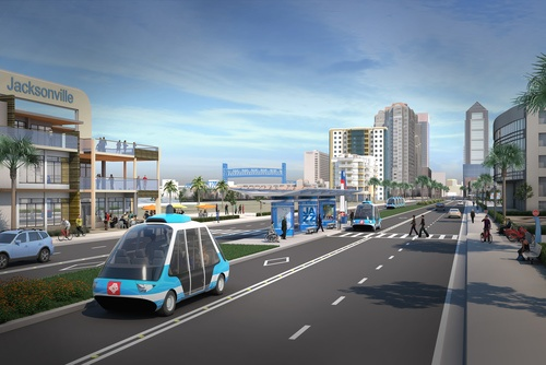 Jacksonville's Program to Meld Old Infrastructure and New AV Technology