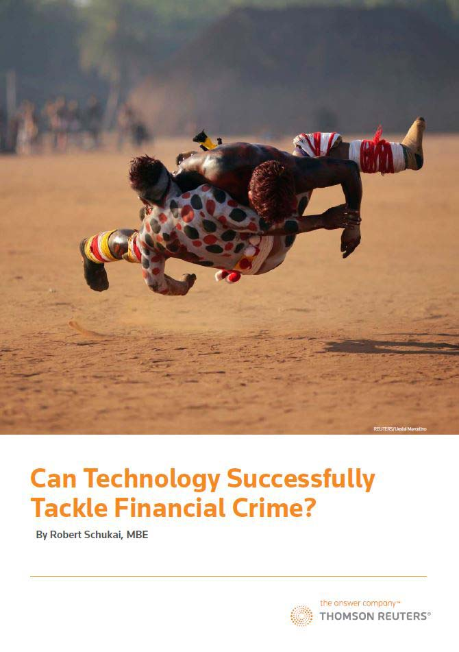 Can trechnology successfully tackle financial crime?
