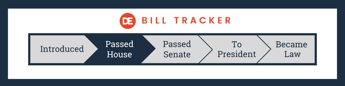 OFCCP Week In Review DE Bill Tracker | Passed House