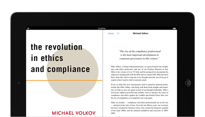 The Revolution in Ethics and Compliance - an eBook by Mike Volkov