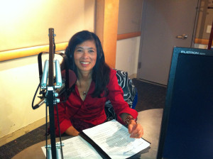 Photo of Carla Din, director of East Bay Green Corridor
