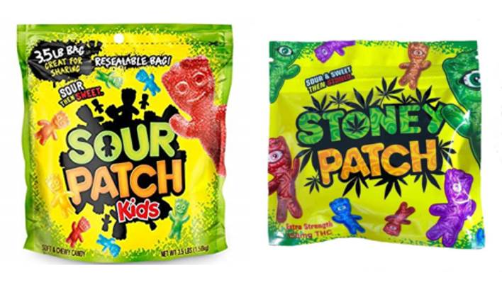 Photo: A packet of South Path Kids next to a packet of Stoney Patch