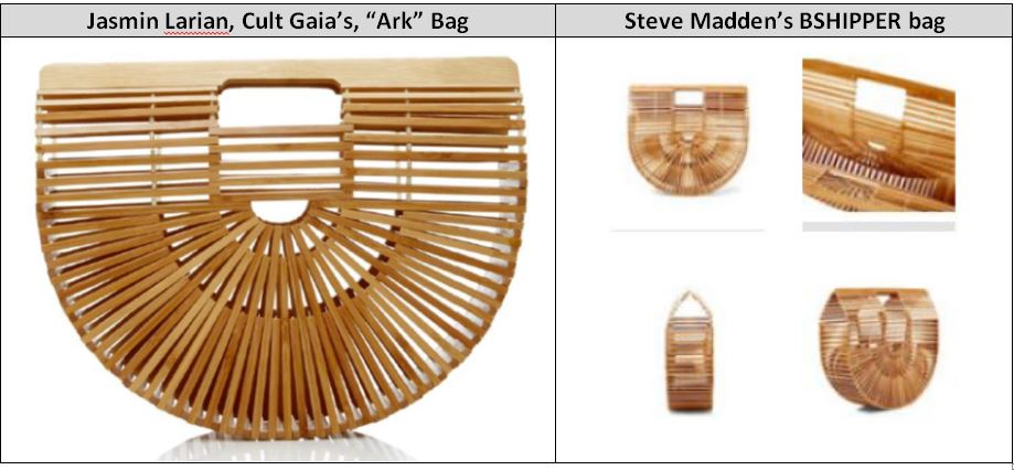 f6250b65a69 Vintage or Protectable? Steve Madden Creates Waves for the Ark ...