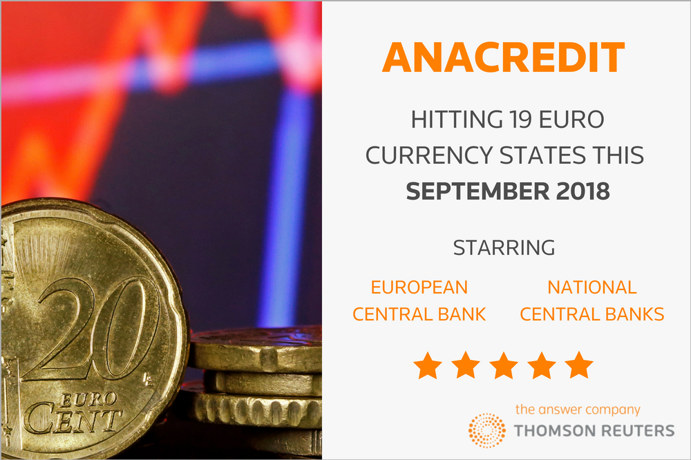 AnaCredit: Hitting 19 euro states this September 2018