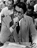 Gregory Peck as Atticus Finch in