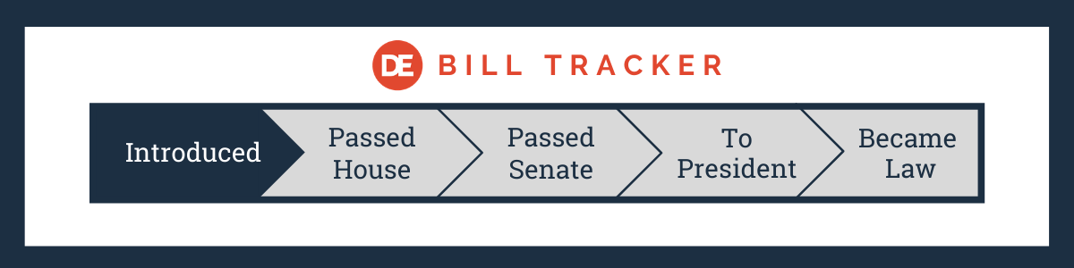 OFCCP Week In Review: Bill Tracker - Introduction