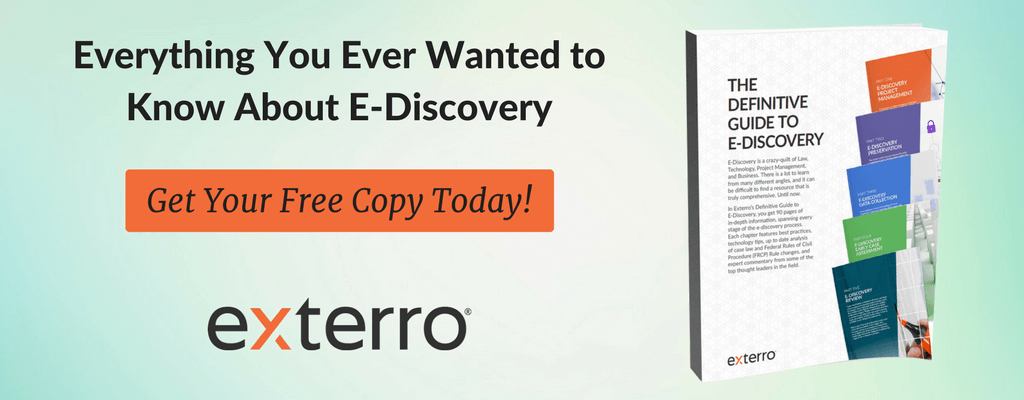 The Definitive Guide to E-Discovery