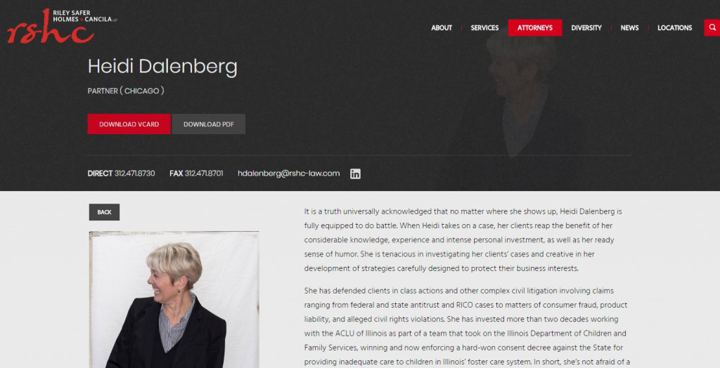 Heidi Dalenberg Bio