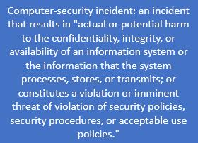 Computer Security Incident