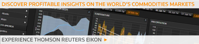 Thomson Reuters Eikon Commodities Agriculture