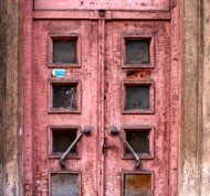 Old door in Riga