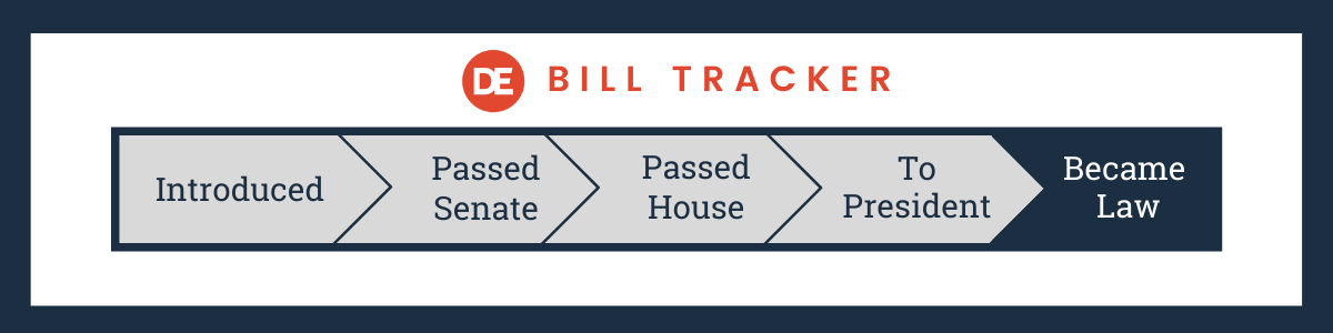 OFCCP Week In Review Bill Tracker