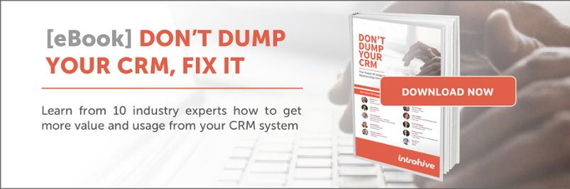 ebook - don't dump your CRM, fix it