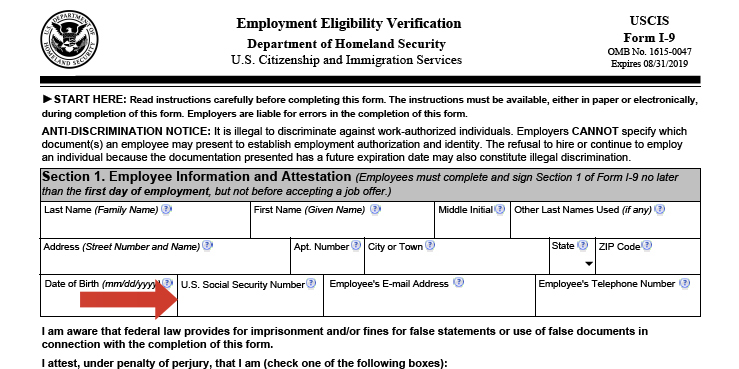 Employers Should Review USCIS Fillable Forms I-9 Completed Between ...